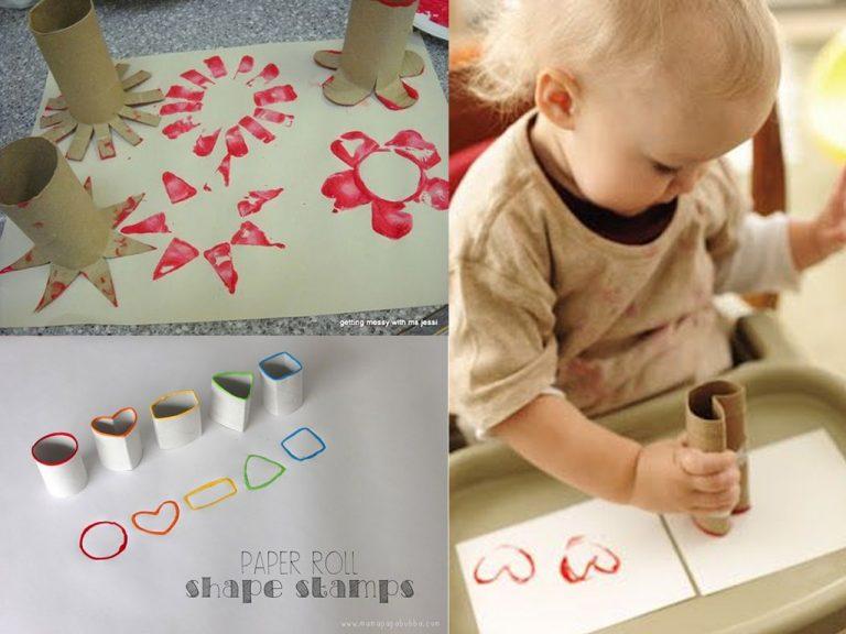 manualidades con rollos de papel higienico 17