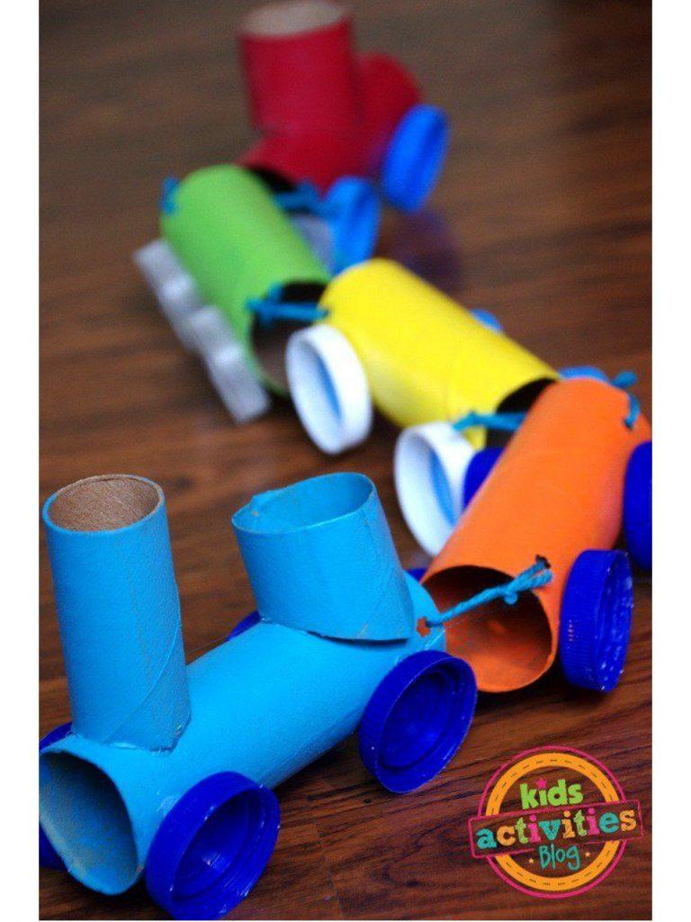 manualidades con rollos de papel higienico 19