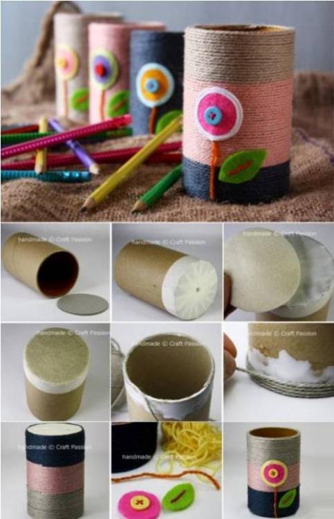 manualidades con rollos de papel higienico 6