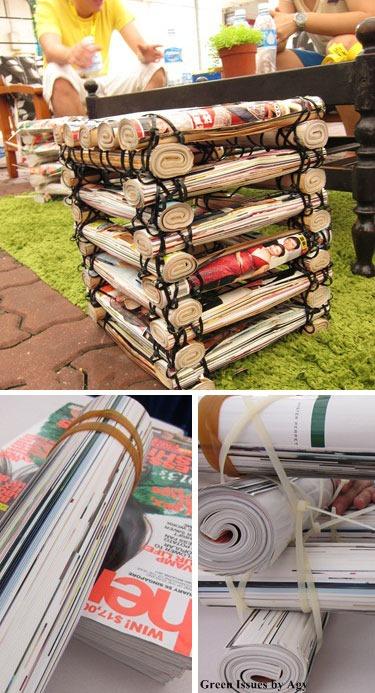 reciclar el periodico 8