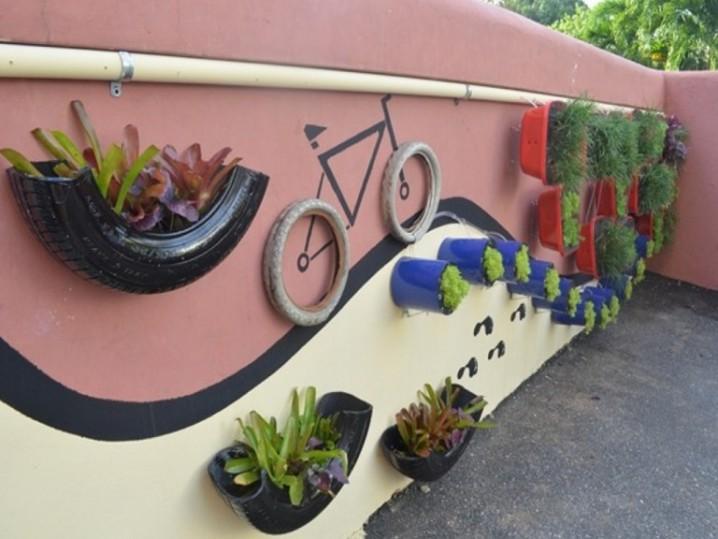 Cómo Decorar tu Jardín con Neumáticos de una Manera Fantástica