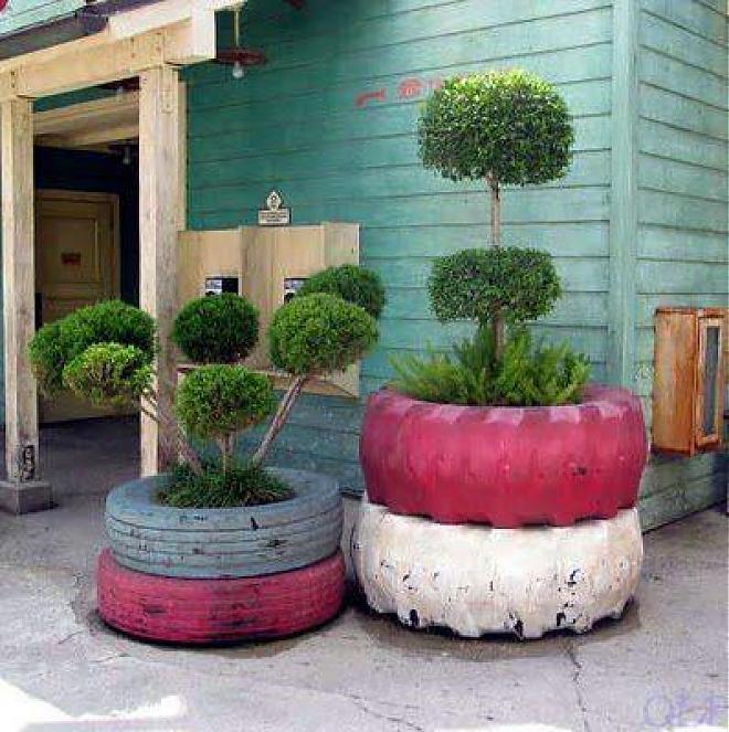 Ideas Y Formas Creativas Para Reciclar Neumáticos Viejos