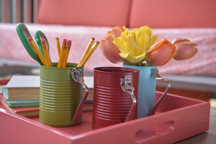 reciclar y decorar con latas 10