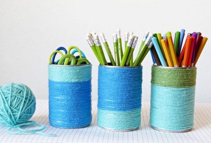 reciclar y decorar con latas 13