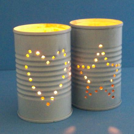 reciclar y decorar con latas 20