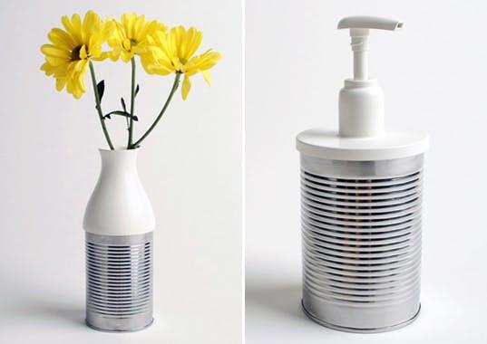 reciclar y decorar con latas 22