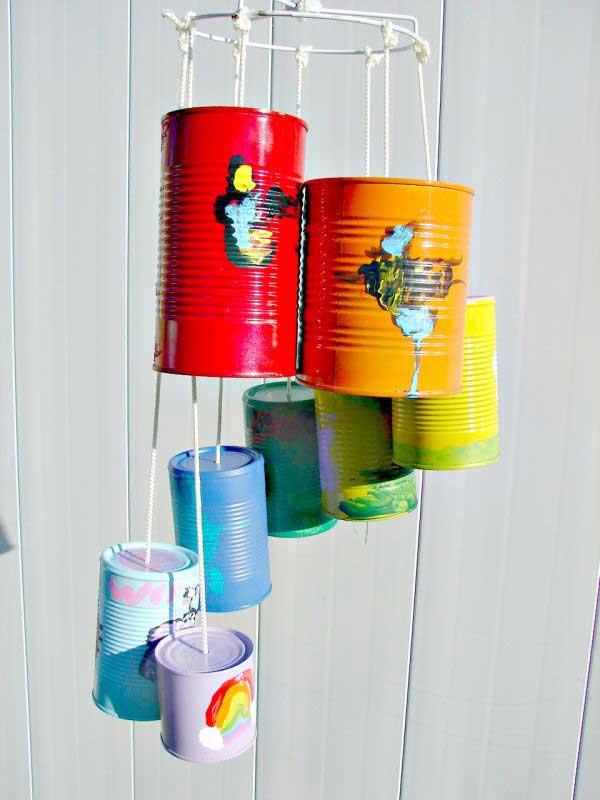 reciclar y decorar con latas 5