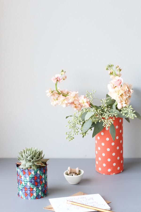 reciclar y decorar con latas 8
