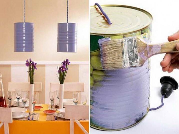 reciclar y decorar con latas 9