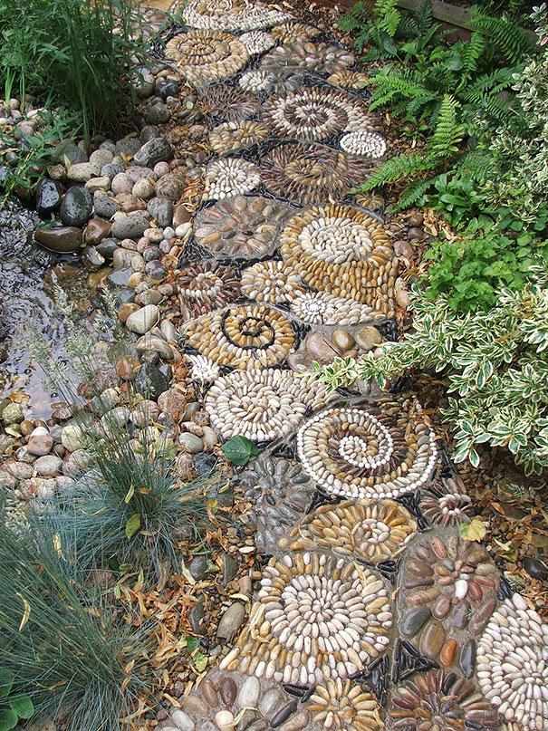 artesanias piedras guijarros 13