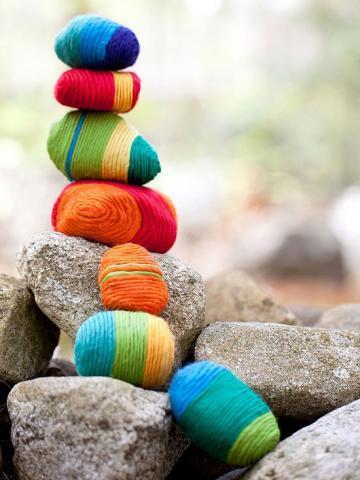 artesanias piedras guijarros 16