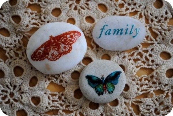 artesanias piedras guijarros 17
