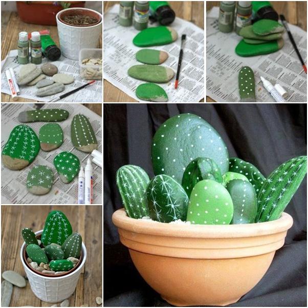 artesanias piedras guijarros 7