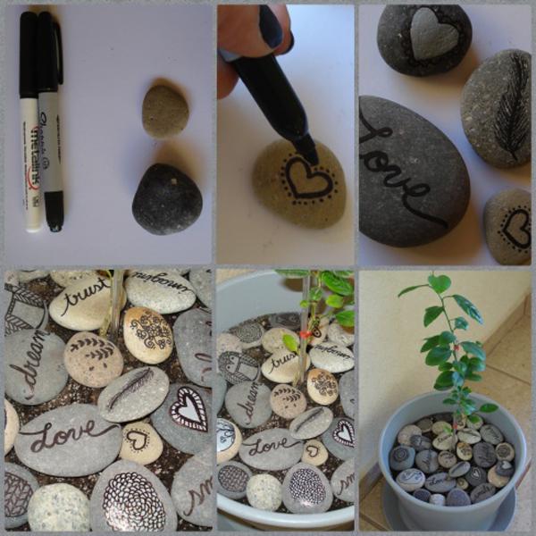 artesanias piedras guijarros 8