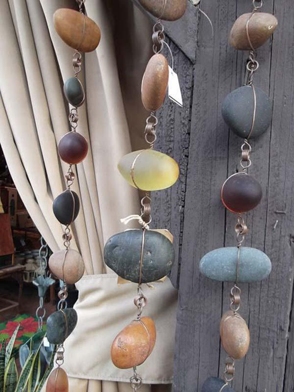 artesanias piedras guijarros