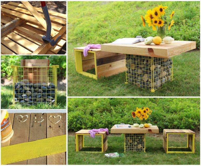 Diseños Innovadores y Muy Creativos de Muebles de Palets