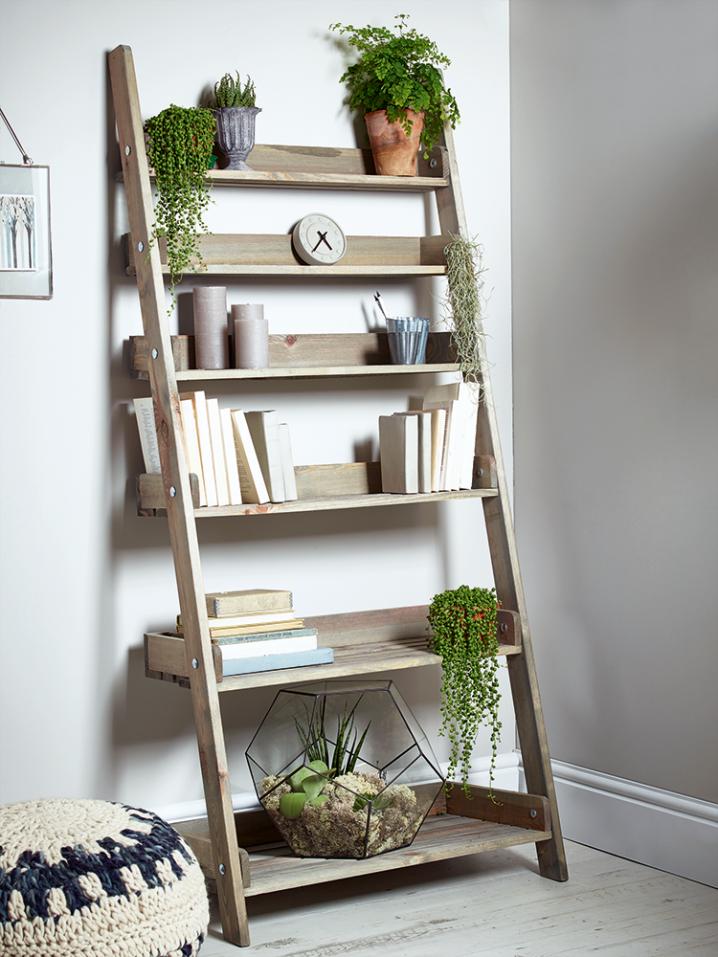 Maneras Geniales de Reutilizar una Escalera Vieja
