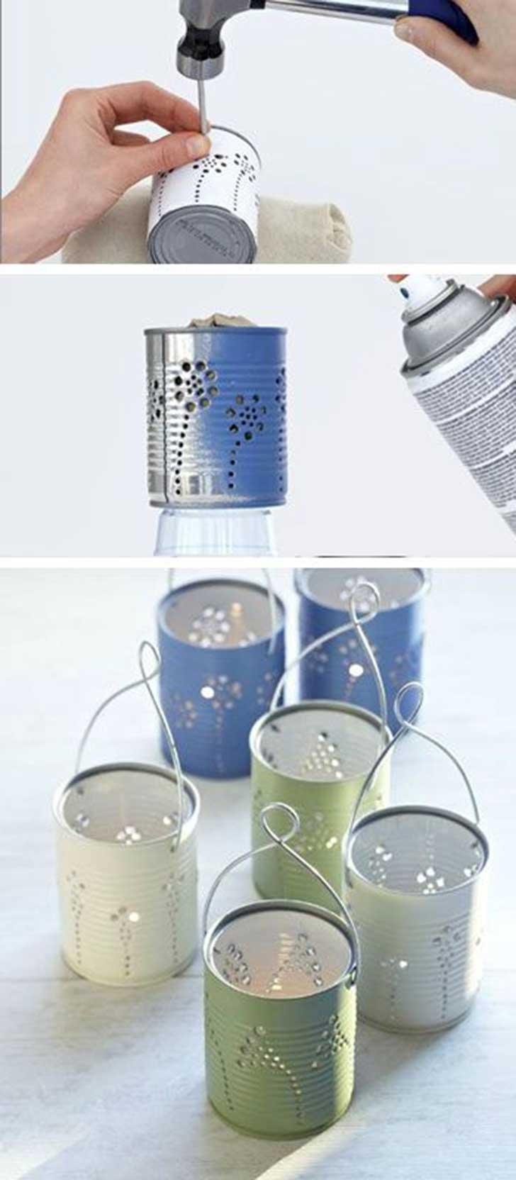 reutilizar las latas de aluminio 13