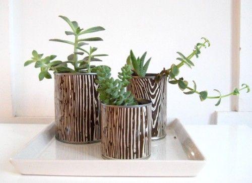 Creativas Formas para Reutilizar las Latas de Aluminio