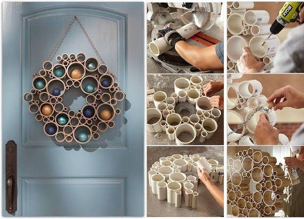 Cómo Reutilizar Tuberías de PVC en Diseño de Interiores