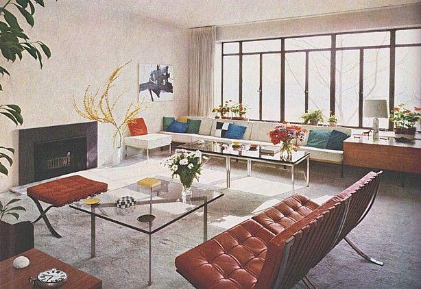 Decoración de la Casa en los años 60