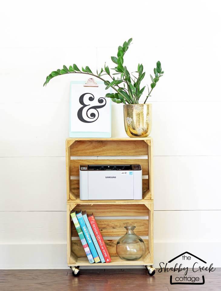 decoracion con cajas madera 12