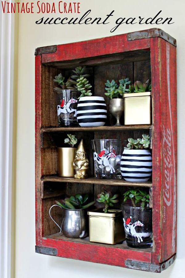 decoracion con cajas madera 13