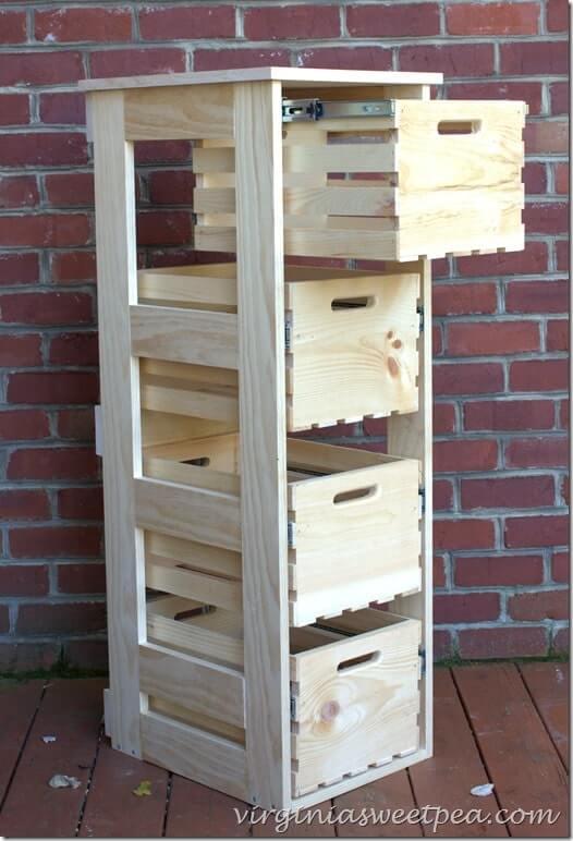 decoracion con cajas madera 4