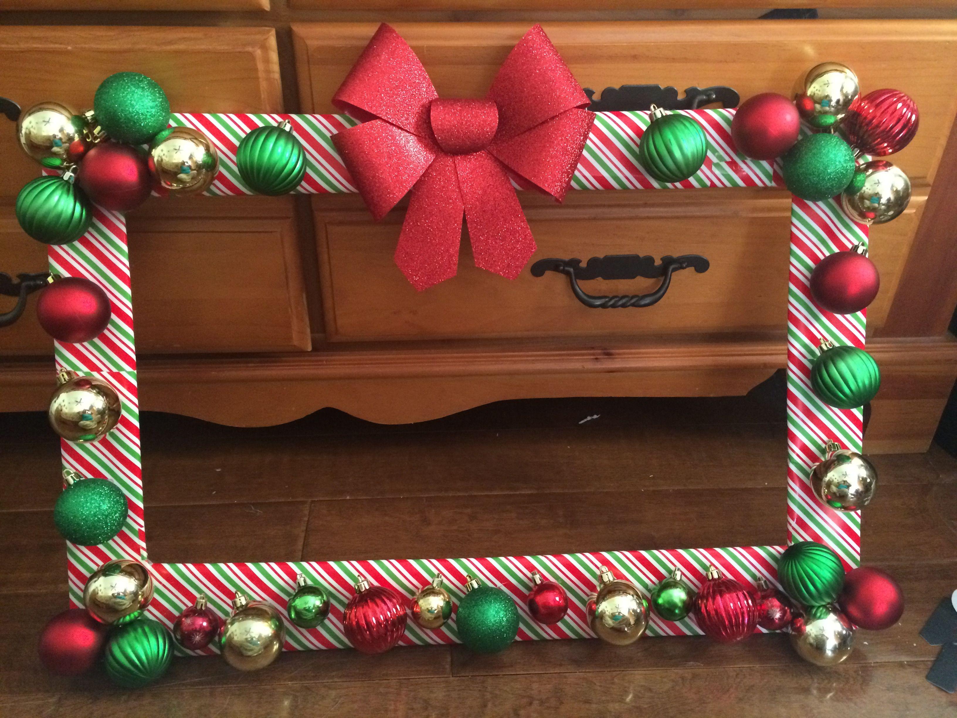 Ideas para Utilizar Marcos en Decoraciones para Esta Navidad