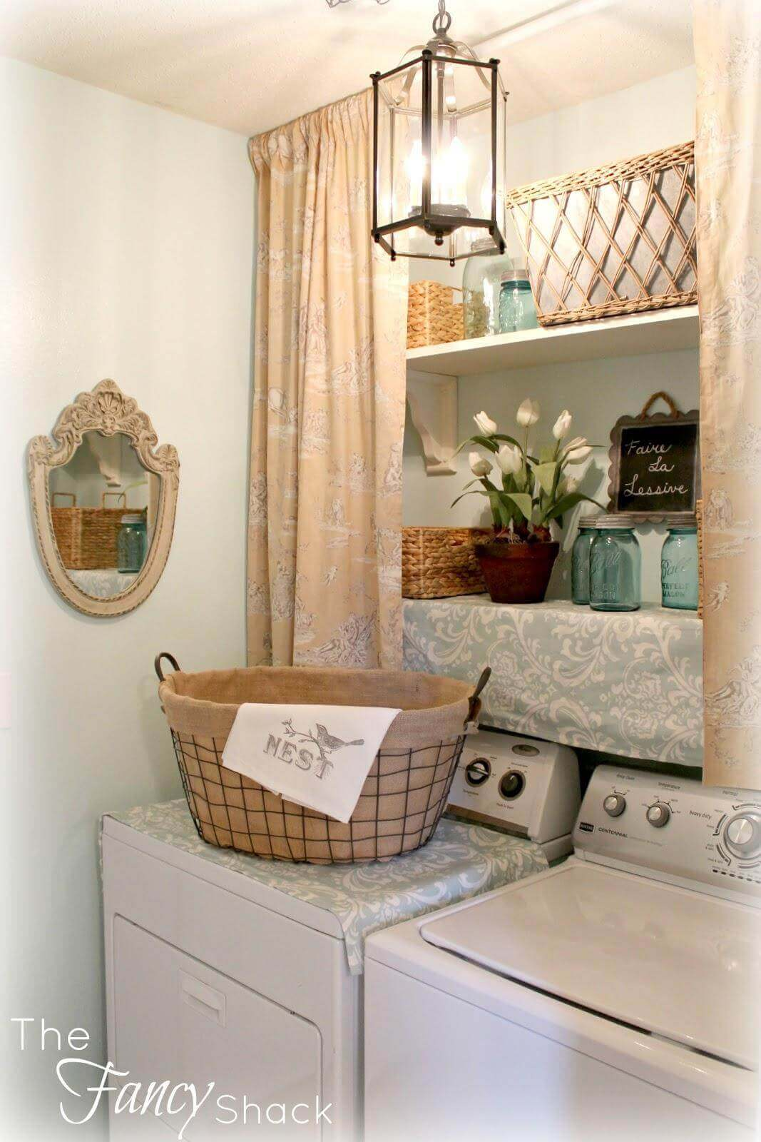 organizar lavandaria