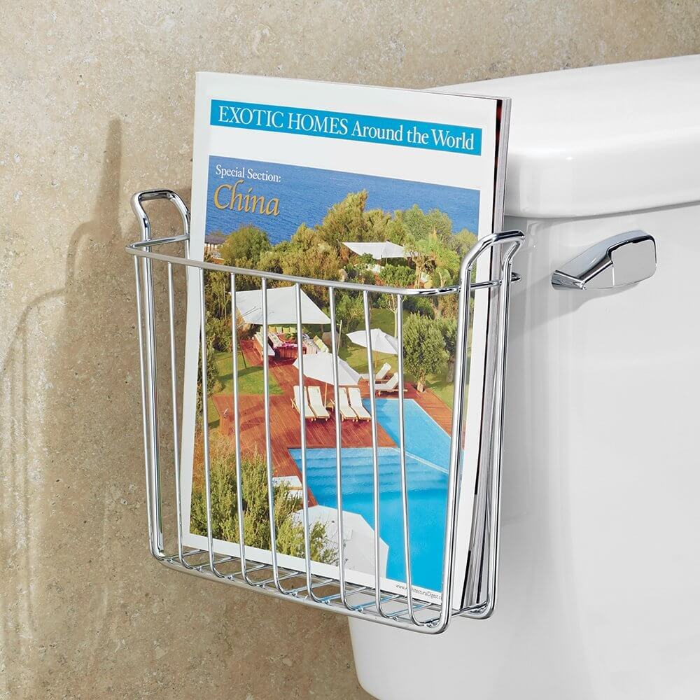 Ideas Sencillas para Organizar Revistas de Baño