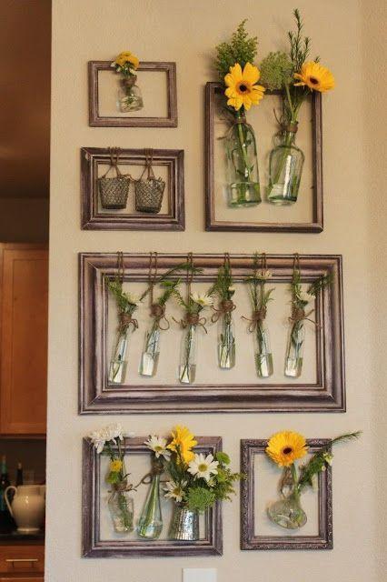 decoracion con marcos vacios 6